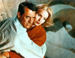 Cary-Grant-Eva-Marie-Saint-in-North-by-Northwest-Photograph-C11797981